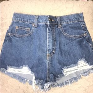 Pants - 2 pair of shorts $4 each size 26
